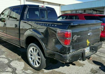 Before - Side - Ford F150 Harley-Davidson Edition