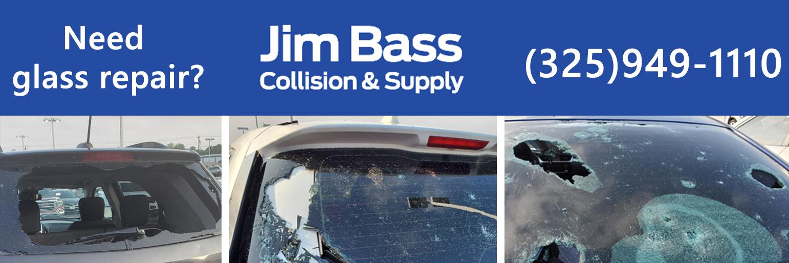Hail Damage - Glass Repair - Jim Bass Collision & Supply
